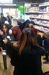 Voldelige scener da de dumpet prisen på Nutella: - De er som ville dyr