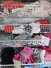 KLESKAOS: Er det rart vi aldri finner noe å ha på oss når garderoben ser slik ut? Foto: Stine Okkelmo